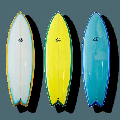 Fisch Surfbrett