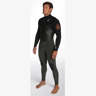 heren wetsuit c-skins wired frontzip
