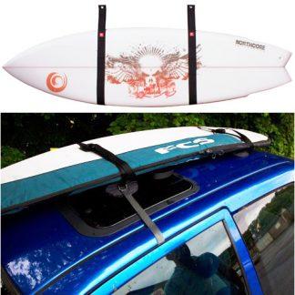 Surfbrettständer und -gurte