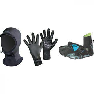 Neopren Schuhe Mütze Handschuhe